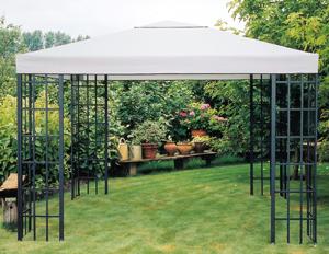 pavillondach ersatzdach dach partyzelt pavillion pavillon grau wasserabweisend ebay. Black Bedroom Furniture Sets. Home Design Ideas