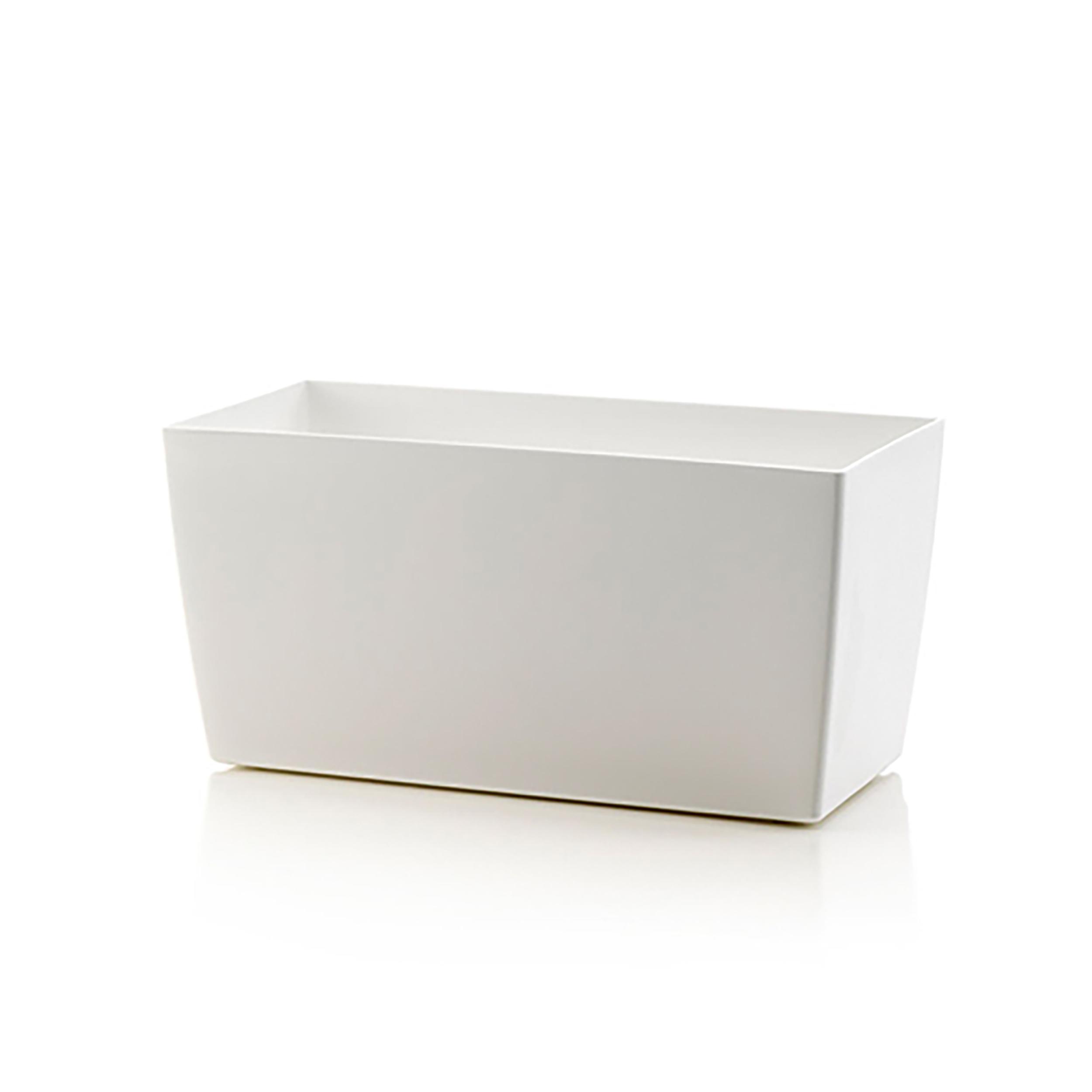 pflanztopf coimbra blumentopf pflanztopf pflanzk bel blumenk bel wei eckig neu ebay. Black Bedroom Furniture Sets. Home Design Ideas