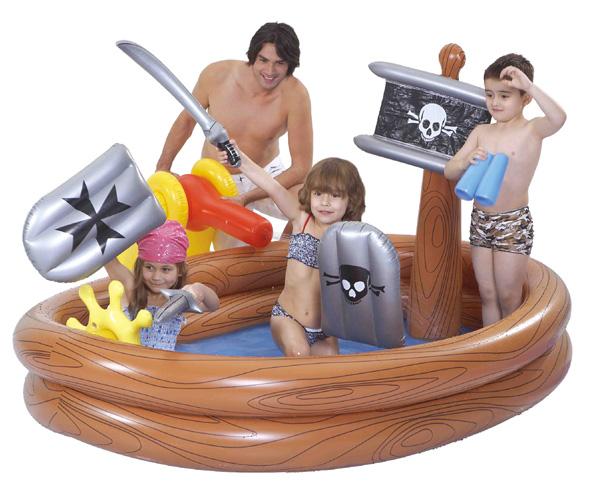 kinder kinderpool familien planschbecken pool swimmingpool piratenpool neu ebay. Black Bedroom Furniture Sets. Home Design Ideas