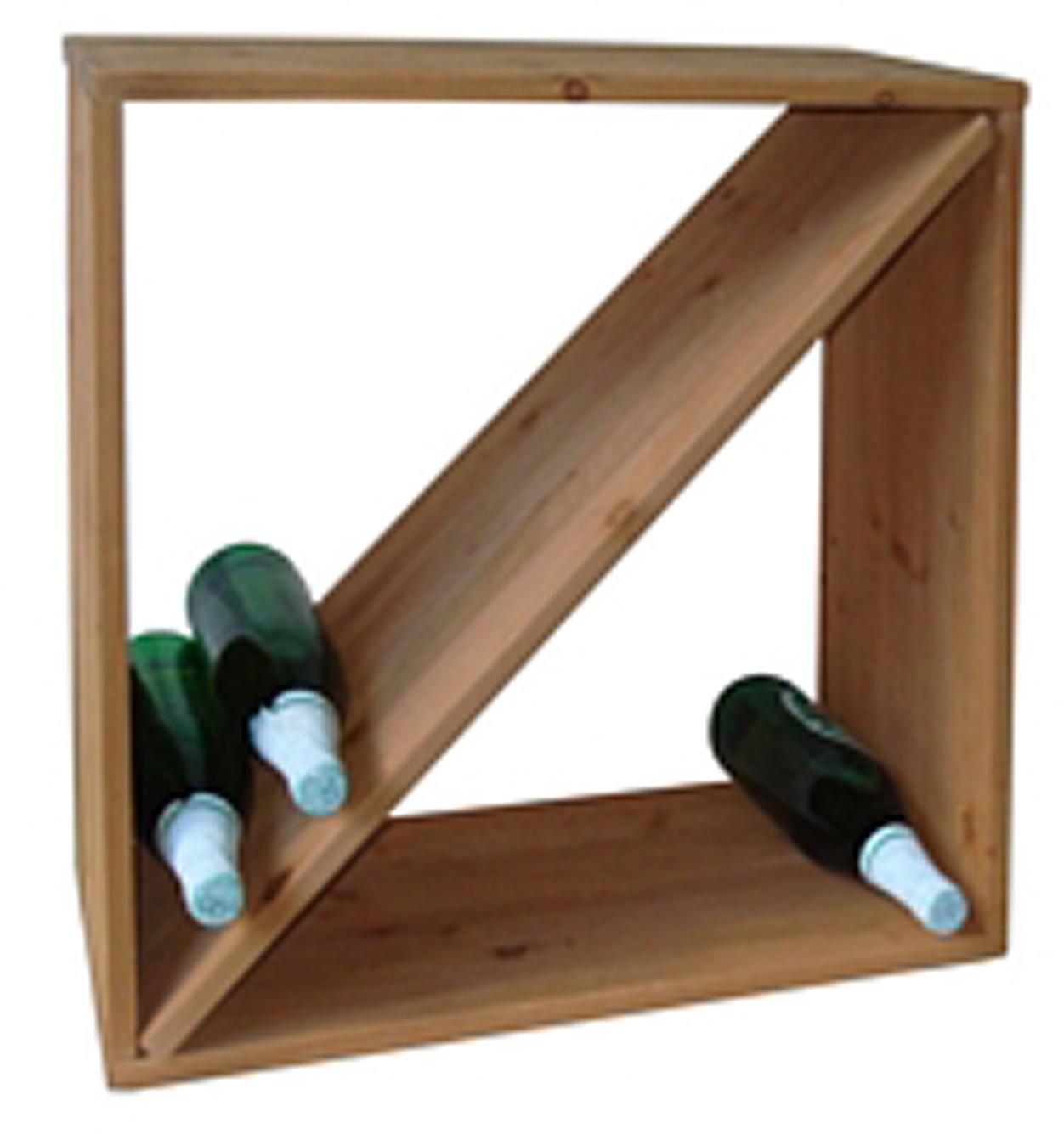 holz weinregal wein regal weinst nder weinhalter neu ebay. Black Bedroom Furniture Sets. Home Design Ideas