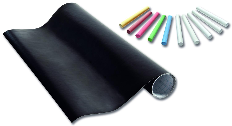 schul schultafel folie tafelfolie 45x200cm inkl 10kreiden. Black Bedroom Furniture Sets. Home Design Ideas