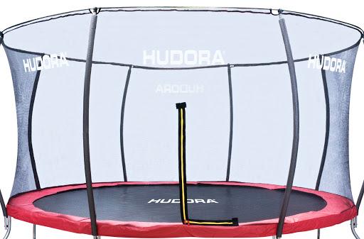 fangnetz sicherheitsnetz ersatznetz netz f r trampoline hudora 400 cm schwarz ebay. Black Bedroom Furniture Sets. Home Design Ideas