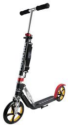 HUDORA BigWheel 205 schwarz rot gold Umhängegurt Scooter Roller bis 100 kg neu