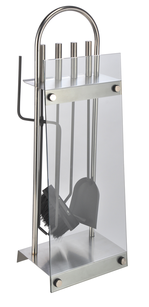 Kamine Kaminzubehor Luxus Designer Kaminbesteck Glas Edelstahl Kamin Garnitur Besteck Kamingarnitur N3productions Co Uk