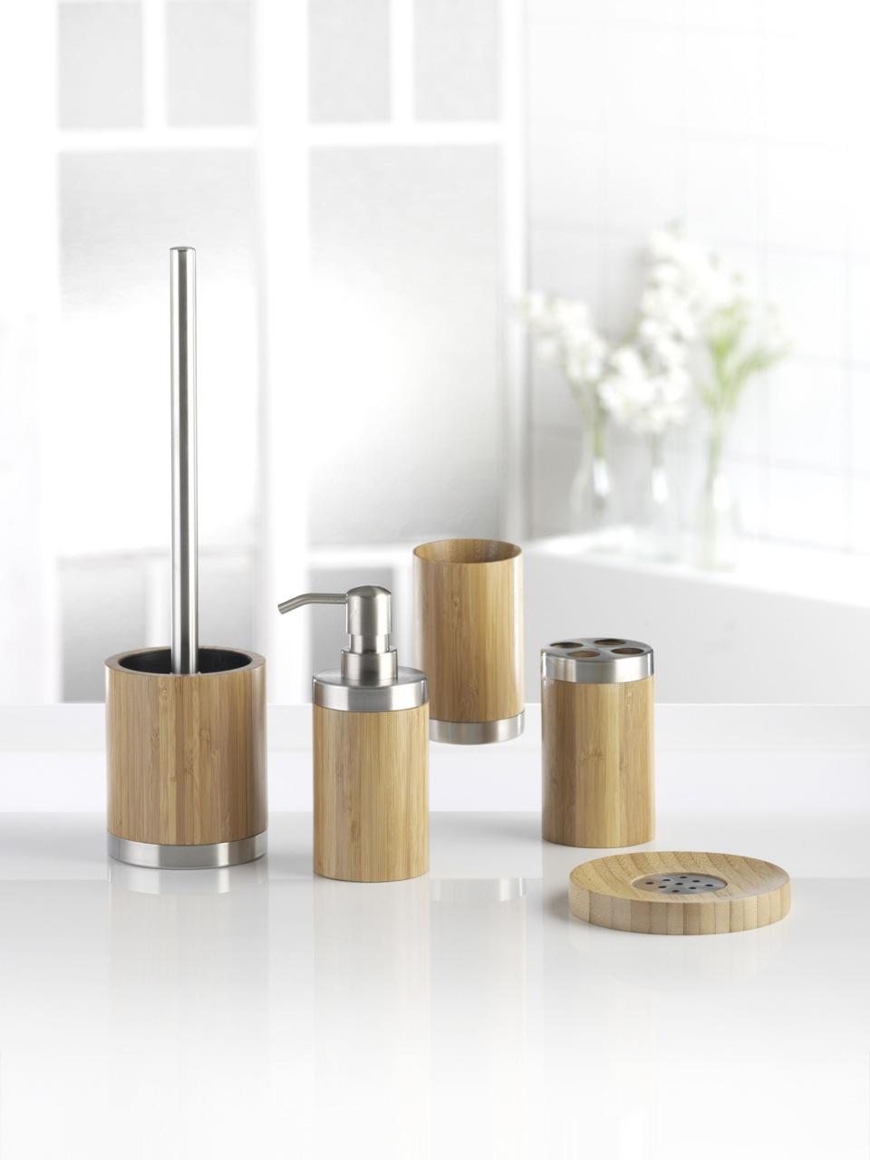 bonja bambus bad badezimmer set badset badezimmerset wc. Black Bedroom Furniture Sets. Home Design Ideas